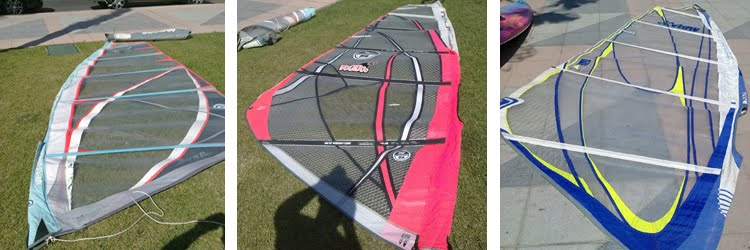 elegir vela de windsurf