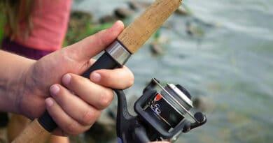 fundas para carretes de pesca