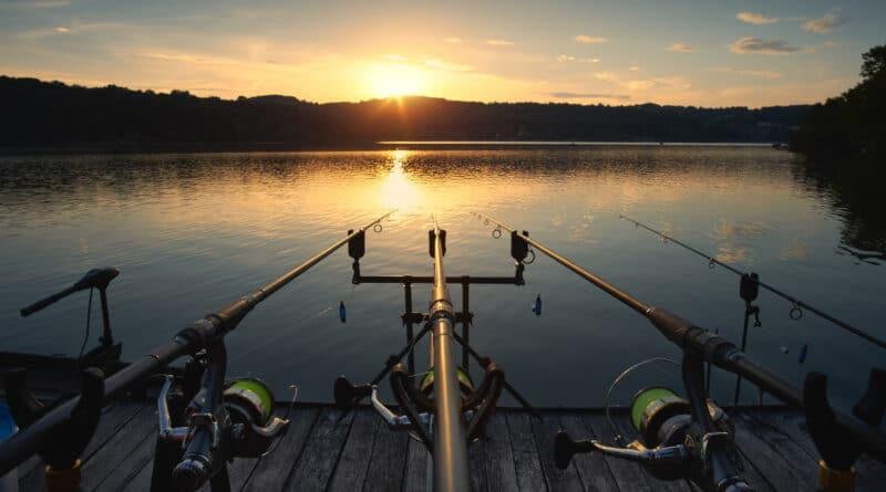 soporte para caña de pescar