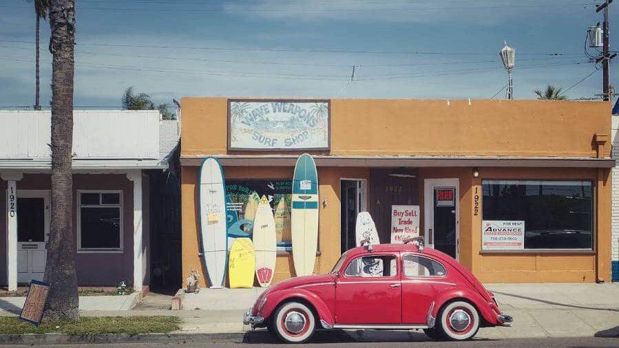 Mejores tiendas de surf